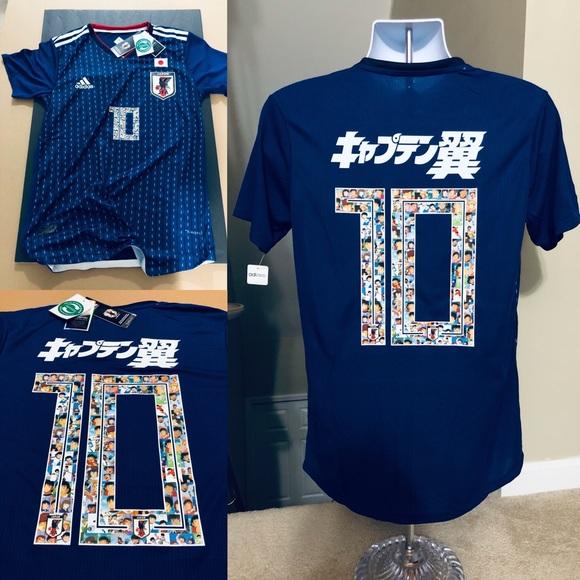 ebb39b241b2 Anime 2018 JAPAN Soccer Jersey Kagawa 10 World Cup